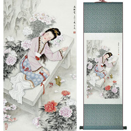 $enCountryForm.capitalKeyWord NZ - Portrait Painting Home Office Decoration Chinese Scroll Painting Women Art Painting Ltw112413