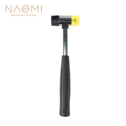 NAOMI Double Face Soft Tap Rubber Hammer For Multifunctional Hand Tool Hard Plastic and Non Slip Plastic Grip Perfect Tool on Sale