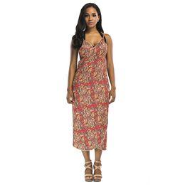 a34ffa490a30b Women Summer Printed Pareo African Print Tunic Beach Dress Dashiki Beach  Wear Bikini Cover ups Bathing Suit Cover Ups 2019