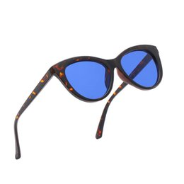Ocean Frames Australia - High-end European and American cat eye sunglasses fashion trend ocean movie cat eye personality sunglasses Europe and America sunglasses