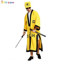 ghost clothing Canada - Halloween trick horror Taoist down-the-hill Taoist robe Tai Chi eight diagrams master ghost-catching clothing clothing