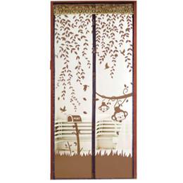 Опт Новый квалифицированный лето предотвратить Комаров занавес Portiere экран двери магнитный Магнит декорации Леверт челнок dig683