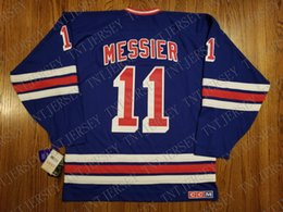 Cheap custom Mark Messier Vintage New York Rangers CCM Heroes of Hockey  Jersey Stitched Retro Hockey Jersey XS-5XL 747bdb816