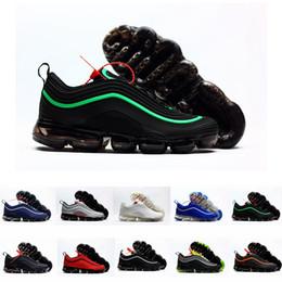 best website f64bc ba7f4 2019 Nouveau Chaussures 97 Plus Kpu Ultra OG Blanc Caoutchouc 97s Hommes 97  Chaussures de course pour Hommes Baskets Baskets Taille 7-13