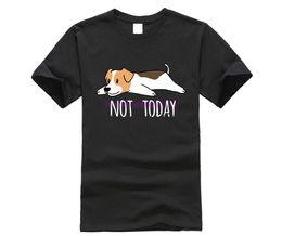 $enCountryForm.capitalKeyWord Australia - Large Size Love Cute Dog Jack Russell Terrier T-Shirts for Men Streetwear Short Sleeve Urban T shirt 90s Clothing