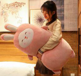 $enCountryForm.capitalKeyWord Australia - cute rabbit plush toy sleeping pillow super soft bunny doll girls doll bed Deco cushion birthday gift 39inch 100cm