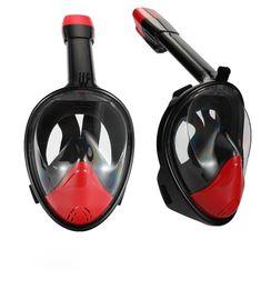 $enCountryForm.capitalKeyWord Australia - MC6108Snorkeling Mask - Original full face snorkeling and diving mask for 180° panoramic view - Longer air duct, waterproof, camera stand