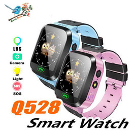 $enCountryForm.capitalKeyWord NZ - Intelligent Q528 Smart Watch for Child Kids GPS Watch for IOS Android Phone Smart Baby Watch Electronics Three Colors Package