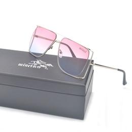 unique design sunglasses 2019 - MINCL  2019 luxury diamond metal Shades Glasses Female Unique Brand Design Sun glasses Clear Lens Fashion Style Sunglass
