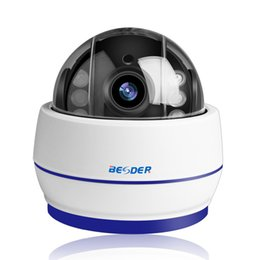 Cmos Dome Ip Camera UK - BESDER Wireless Speed Dome PTZ Wifi Camera HD 1080P 960P Auto Focus 5X Zoom 2.7-13.5mm Audio ONVIF P2P IP Camera SD Card Slot