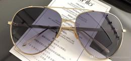 $enCountryForm.capitalKeyWord Australia - Linda Farrow Luxury Fashion Popular Sunglass With Coating Mirror Lens UV Protection Women Designer Vintage Oval Frame Top Quality