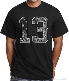 Urban Clothes For Men Australia - Graphic Shirts Men's O-Neck 13 Bandana T shirt For Men Stylish Graphic Design Tee Urban Hipster Clothing Short Sleeve Fashion