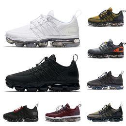 Peach shoes for men online shopping - New Run UTILITY running shoes for men triple white black REFLECTIVE Medium Olive Burgundy Crush designer mens trainers sports sneakers