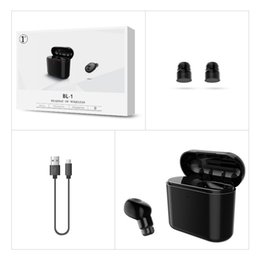 cell unit UK - New Wireless Bluetooth Earbuds Charge box Earphones stereo headphone unit For iPhone