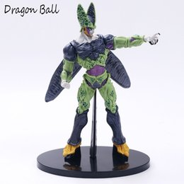 mascot toys NZ - Z Cell Ultimate Shape Goku Battle Soldiers Awakening DBZ Cell Awakening Brush PVC Action Figure Collection Toy mascot