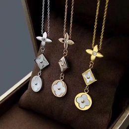DiamonD party stranDs online shopping - designer necklace Fashion luxury accessories Four color three tone diamond necklace luxury designer jewelry women necklaces