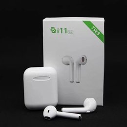 $enCountryForm.capitalKeyWord Australia - i11 TWS Mini Bluetooth Earphone Wireless Bass Earbud Bluetooth 5.0 Binaural calls Stereo headset With Charging Box for Apple Android phone