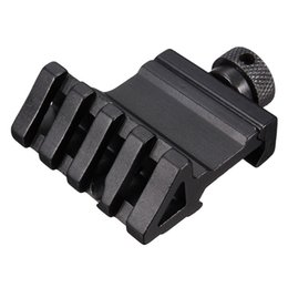 Chinese  4 Slot angle of 45 degrees Offset Fit 20mm Rail Mount Quick Release Aluminum Alloy High Quality Hunting Tools Accessories New manufacturers