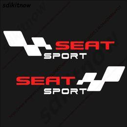 IbIza stIcker online shopping - 2pcs Spain Car Decal Body Windows Sports Racing PVC Sticker Styling For Seat Leon Ibiza Altea Cordoba Toledo Accessories