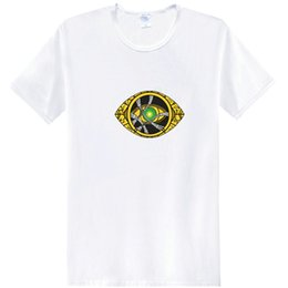 $enCountryForm.capitalKeyWord Australia - Eye t shirt Doctor Strange short sleeve tees Benedict Cumberbatch hero tops Fadeless print clothing Pure color colorfast modal Tshirt