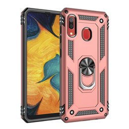 armor xiaomi redmi note case UK - HeavyDuty kickstand Ring Holder Kickstand Shockproof Armor phone 360 degree rotates cases Case For Xiaomi 9 SE redmi note 7 pro