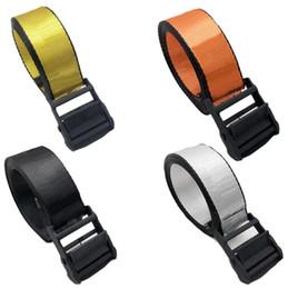 Wholesale 19ss brand fashionable high quality canvas off belt white blet men leisure golden yellow belt well-made Canvas men women belts 130-200cm
