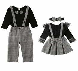 chemises grand frère achat en gros de-news_sitemap_homeCitgeespring Famille Association Vêtements Little Brother Romper Globalement Big Sister Jupe Pantalons Ensemble Combinaise Tenue Couple Couple Chemises M Dmxk