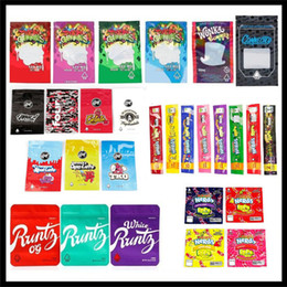 Wholesale Empty Mylar Bags Gas Co Nerds Rope Bites Runtz Jokes Up OG Gasco Dank Gummies Gushers Wonka Connected Edibles Cookies California SF