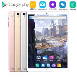 Discount inch kids tablet pc android 2020 Free shipping 10.1 inch Tablet pc 4G LTE Dual SIM Card 1280*800 Resolution Android 8.0 Tablet kids gift with google