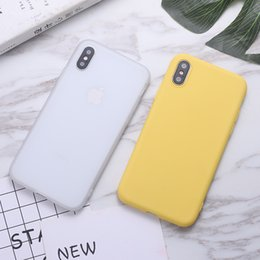 free cellphone cases Australia - Candy Color Cellphone Case TPU For iphone 11 Pro Max XS MAX XR X 6S 7 8 plus Huawei P30 Mate 20 Silicone Phone Case DHL Free