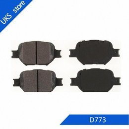 set brake pads Australia - 4piece set Car Brake Pads FRONT D773 for Land Cruiser 2000-2007 f0eG#