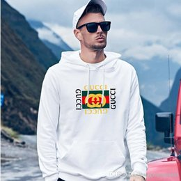 Wholesale male sweatshirts online – oversize Men Sportswear Hooded Sweatshirts Mens Pullover Hoodies Male Hoodie Sport Suit New Hip Hop latest style S XL gu cci