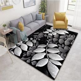 Moderne Grande S noir gris cuisine tapis salon Lounge Chambre Tapis De Sol