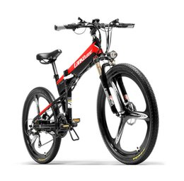 red electric scooter NZ - Electric Bicycle 48V 400W Two Wheels Electric Bicycle Mountain Ebike With Hydraulic Brake System Powerful Electric Scooter