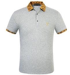 Wholesale best hip hop dressing online – design 2020 best quality new Hip Hop icon unisex t shirt Short Sleeve Cotton tops tee poloshirt shirt men teel hip Designers men women tXXLv