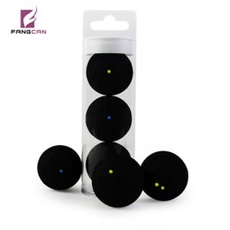 Häfen Unterhaltung 3pcs / Rohr FANGCAN TCSQB Professionelle Squash Yellow Dot Low Speed Rubber Ball Tube Verpackung Blue dot Ausbildung Squash ... im Angebot