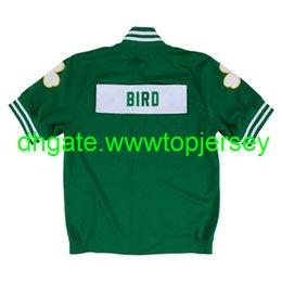 Cheap TopLarry Bird #33 Mitchell & Ness 1987-88 Top Shooting Shirt Throwbacks Vest Stitched basketball jerseys