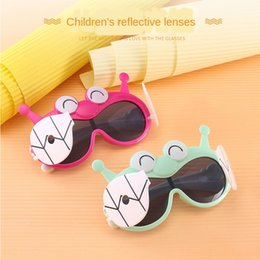 cartoon snail UK - 2020 new cartoon children's polarized sun snail-shaped Children's polarized sunshade sun sunglasses glasses