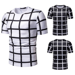 shirt youth 2021 - Ebaihui Summer Men's Plaid Print Short-sleeved T-shirt 3D Print T-shirt for Kids Summer Cool High Quality O-neck Yo
