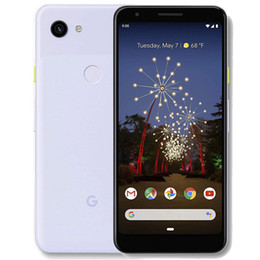 purple cellphone Australia - Refurbished Original Google Pixel 3A XL 6.0 inch Octa Core 4GB RAM 64GB ROM 12.2MP Camera Unlocked 4G LTE Smart Mobile Cell Phone DHL 1pcs