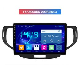 honda radios UK - IPS Screen 8-Core Android 9.0 Car Radio Video GPS for Honda ACCORD 2008-2013 Head Unit Bluetooth WIFI USB Easy Connect