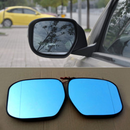 car signals mirror lights Australia - For Honda Crider Car Rearview Mirror Wide Angle Hyperbola Blue Mirror Arrow LED Turning Signal Lights