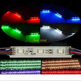 rgb modules wholesale UK - 5050 RGB Led Lights Modules Waterproof IP65 High Quality SMD 5630 Backlight Warm White Red Blue Green 12V Led Pixel Modules