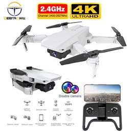 video rc UK - Rc Drone 2020 NEW Drone 4k HD WiFi real-time transmission video fpv Quadcopter With Wide-Angle HD Camera MINI Drone