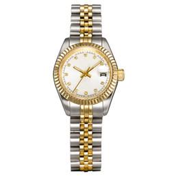 las mujeres se visten de fábrica U1 relojes de acero inoxidable de 28 mm completa de zafiro resistente al agua Relojes de reloj luminoso montres de lujo femme en venta