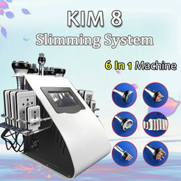 Discount rf ultrasound cavitation machine For home use Ultrasound Cavitation Machine Spa Machine Lipolaser RF Vaccum Slimming Body Sculpture Contouring Cool Face
