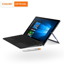 chuwi quad core tablets Australia - CHUWI UBook 11.6 Inch IPS Screen Tablet PC Intel N4100 Quad Core LPDDR4 8GB 256GB SSD Storage Windows 10 OS