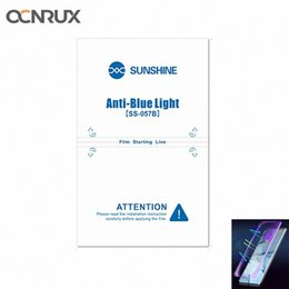 Sunshine SS-057B Anti-blue Light Imported Flexible Hydrogel Film for Cutting Machine SS-890C Phone Front Screen Protector 3z7m# on Sale