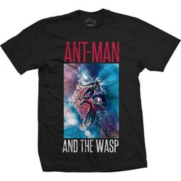 funny blocks UK - Ant Man And The Wasp Men's T-Shirt Marvel Comics Tee: Action Block Christmas Top New T Shirts Tops Tee Plus Size Funny
