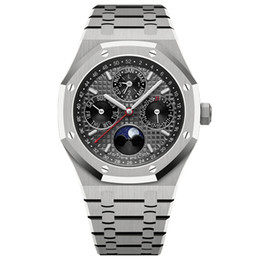 montre de luxe mens automatic Mechanica movement black watch 42mm full stainless steel sapphire super luminous 5ATM waterproof Wristwatches